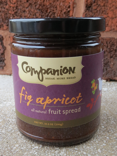Fig apricot fruit spread 2